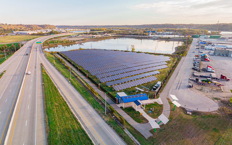 Alliant Energy Port of Dubuque Solar Garden