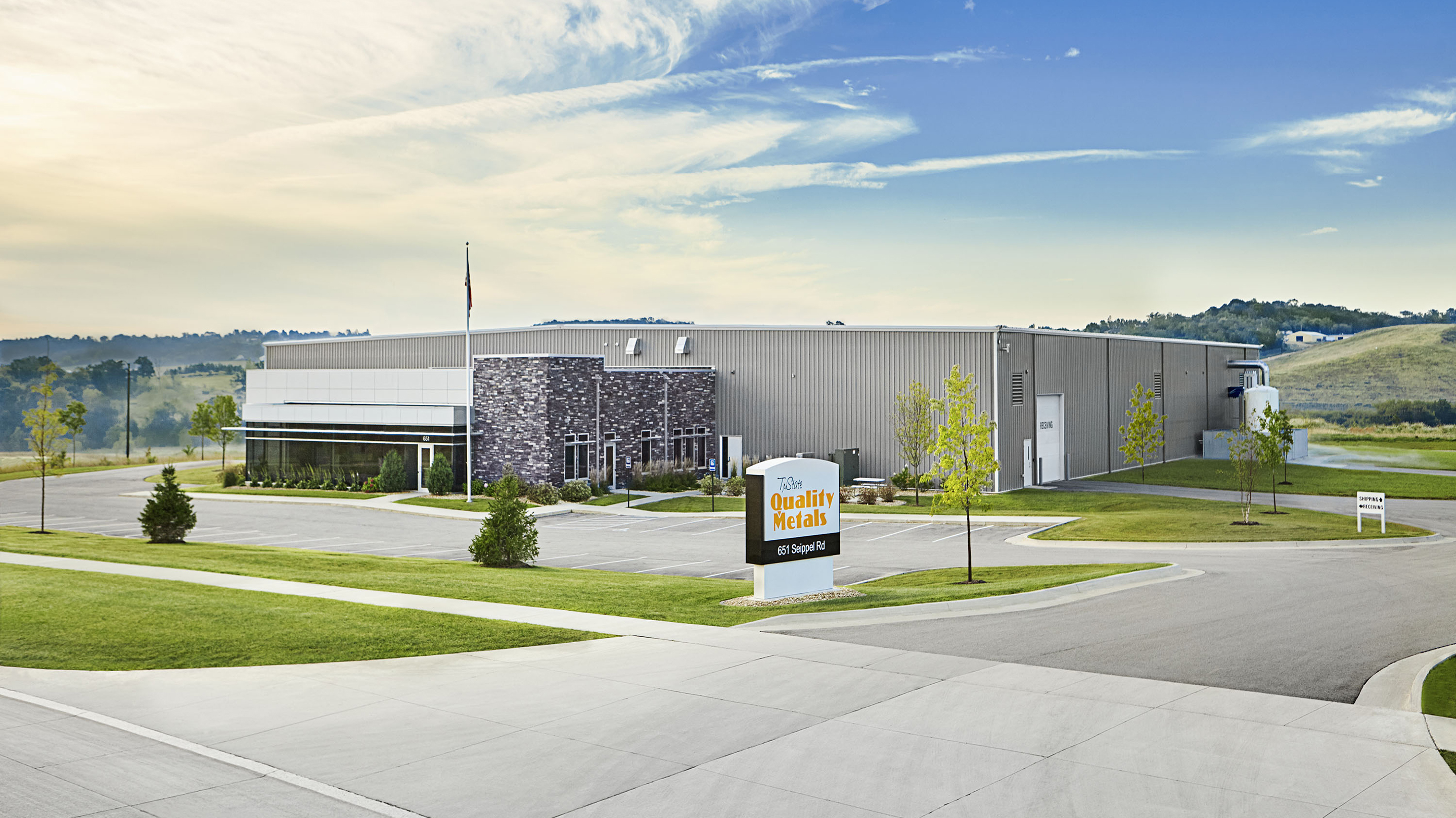 Tri-State Quality Metals Office & Manufacturing Facility