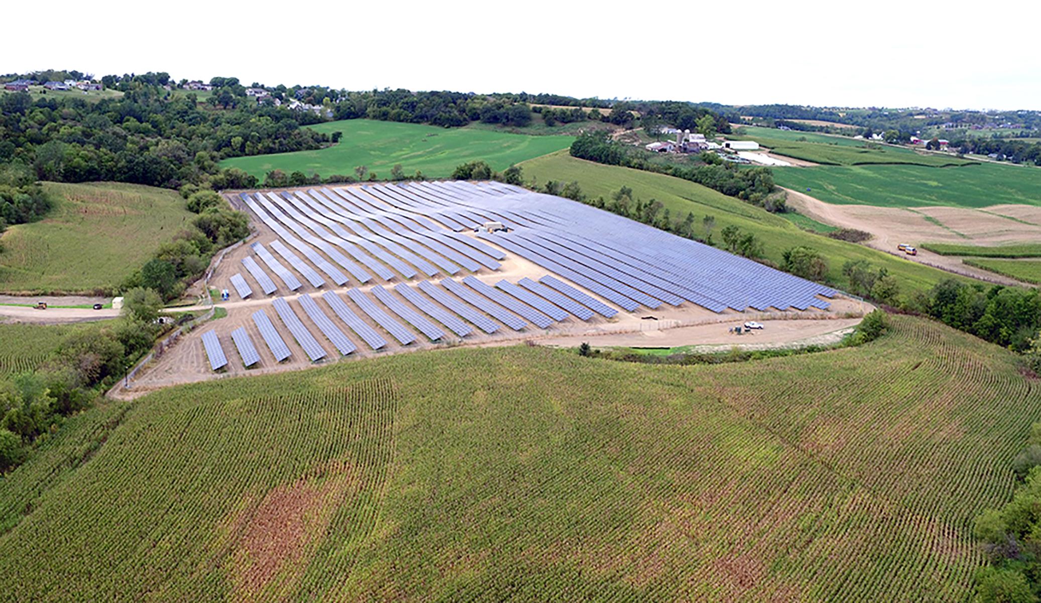 Alliant Energy West Dubuque Solar Array